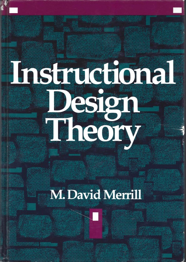 Instructional Design M David Merrill